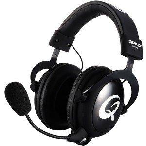 QPAD QH-90 Pro Gaming Hi-Fi Headset - Gesloten cups - Zwart